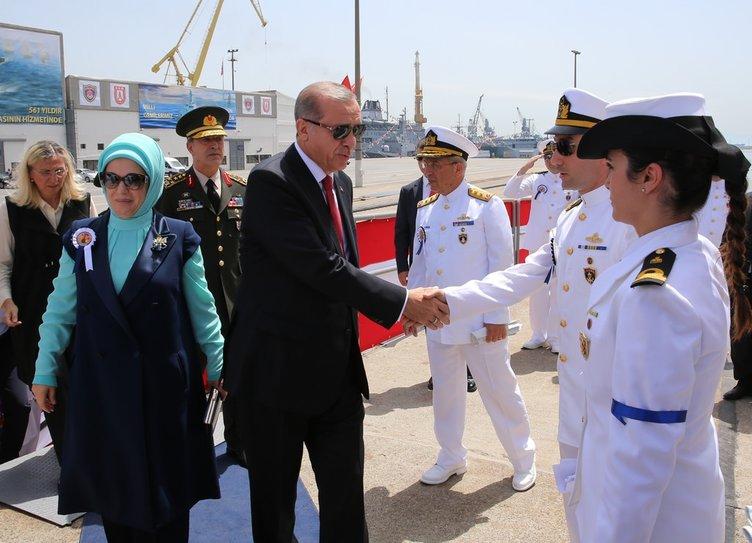 Cumhurbaşkanı Burgazada'nın indirilmesine katıldı