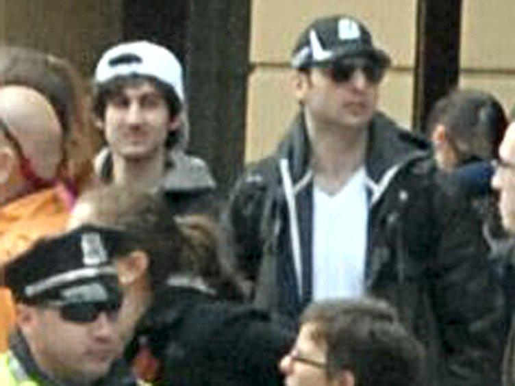 İşte Boston bombacıları