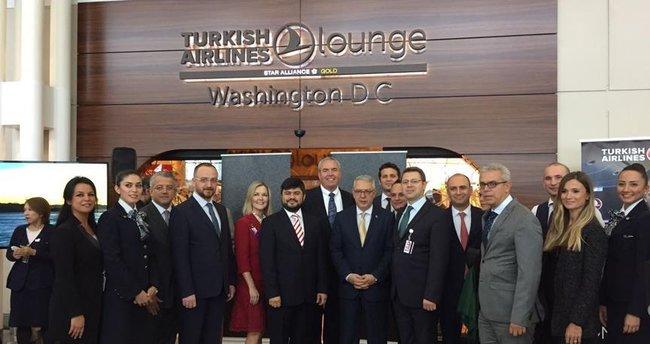 THY, ABD'deki ilk özel yolcu salonunu Washington'da açtı