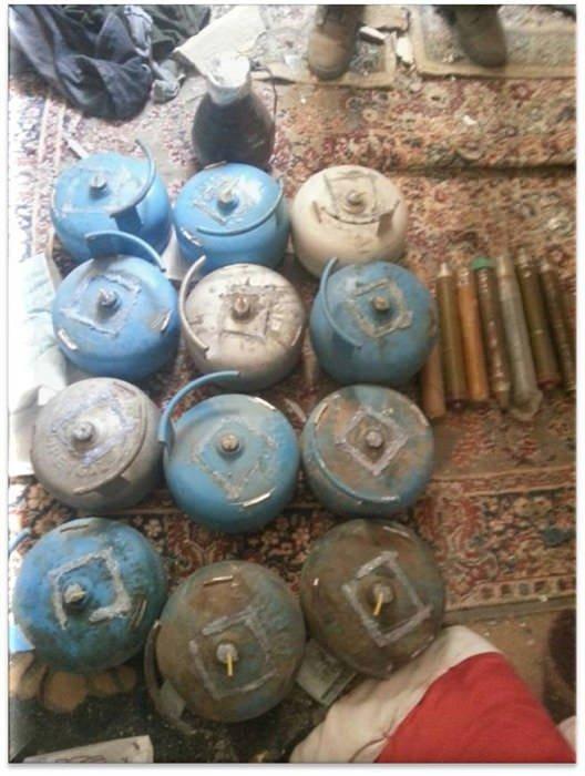Şırnak'ta çok sayıda mühimmat ele geçirildi
