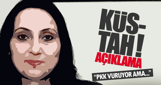 HDP'li Yüksekdağ'dan PKK cinayetleri için küstah çıkış