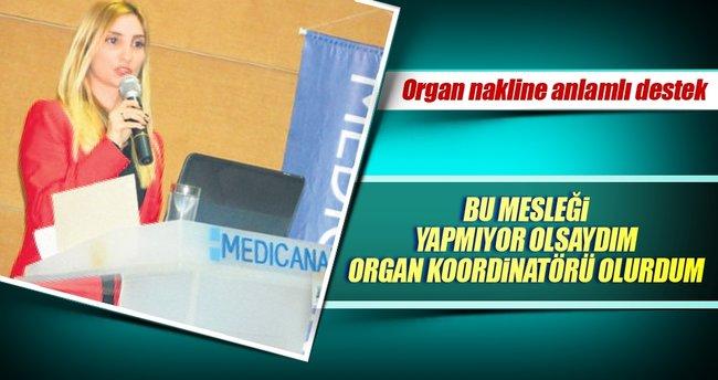 Organ nakline destek