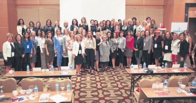 Türkiye'nin en güçlü iş kadını Ankaralı iş kadınlarına seslendi