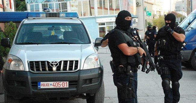 Kosova'da terör operasyonu: 19 gözaltı