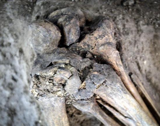 M.Ö. 7500 yılına ait insan iskeleti