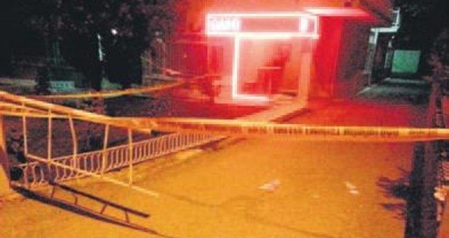 Masaj salonuna pompalı saldırı