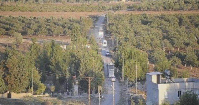 Kilis sınırına askeri sevkiyat