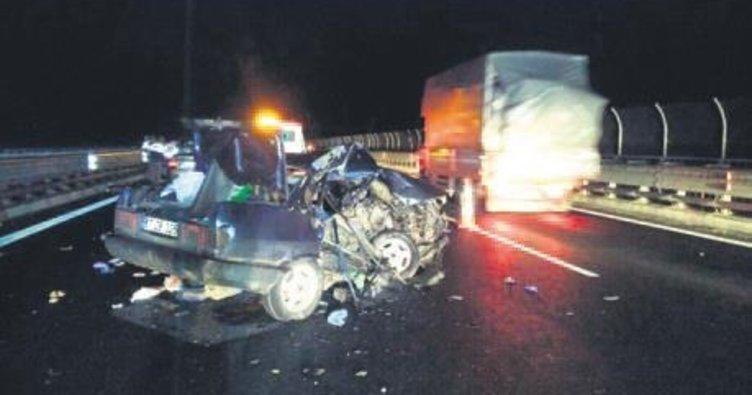 Başkentte trafik kazası: 1 ölü, 6 yaralı