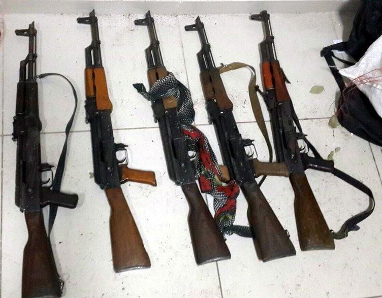 PKK'nın şehir yapılanmasına giden silahlar yakalandı!