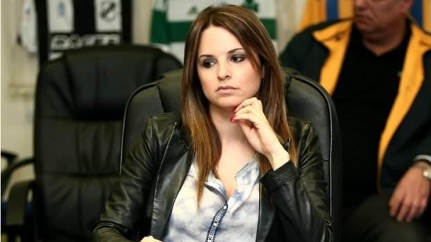 Atromitos'un sportif direktörü Katia Koxenoglou Twitter'ı salladı