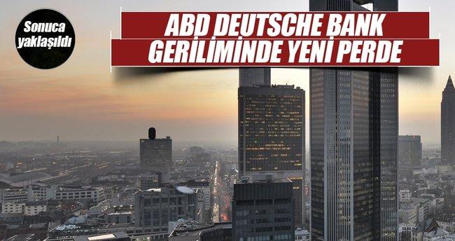 ABD ile Deutsche Bank 5,4 milyar dolarlık anlaşmaya yakın