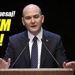 İçişleri Bakanı Süleyman Soylu: Terörün tasfiye edileceği bir dönemdeyiz