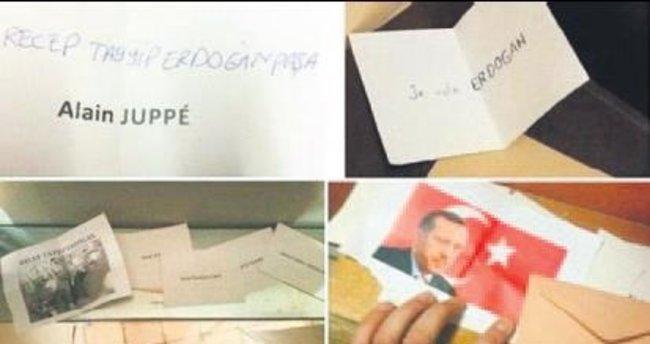 Fransa'da sandıktan Erdoğan'a oy çıktı