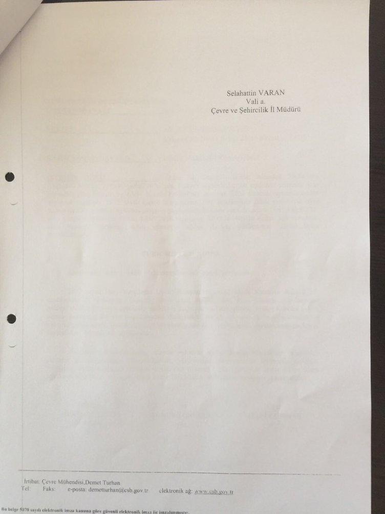 İşte belgeler
