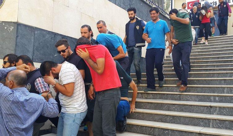 Polisler şaşkına döndüren çete
