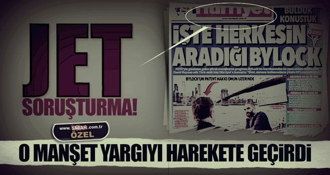Hürriyet Gazetesi'ne ByLock soruşturması!
