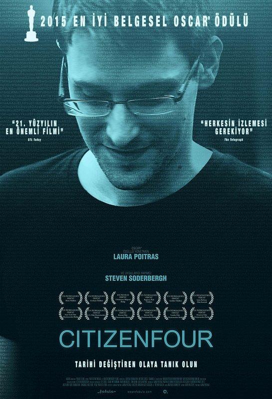 Citizenfour filminden kareler