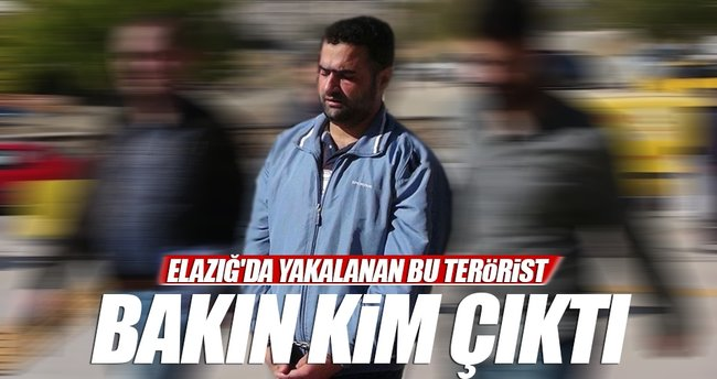 Elazığ'da yakalanan terörist ile ilgili flaş gelişme