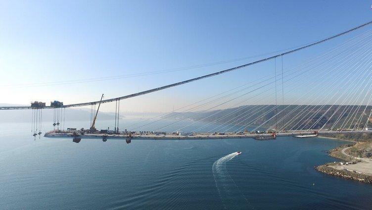 Yavuz Sultan Selim Köprüsü'nde son durum