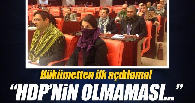 Canikli: HDP'nin olmaması Meclis'i etkilemez