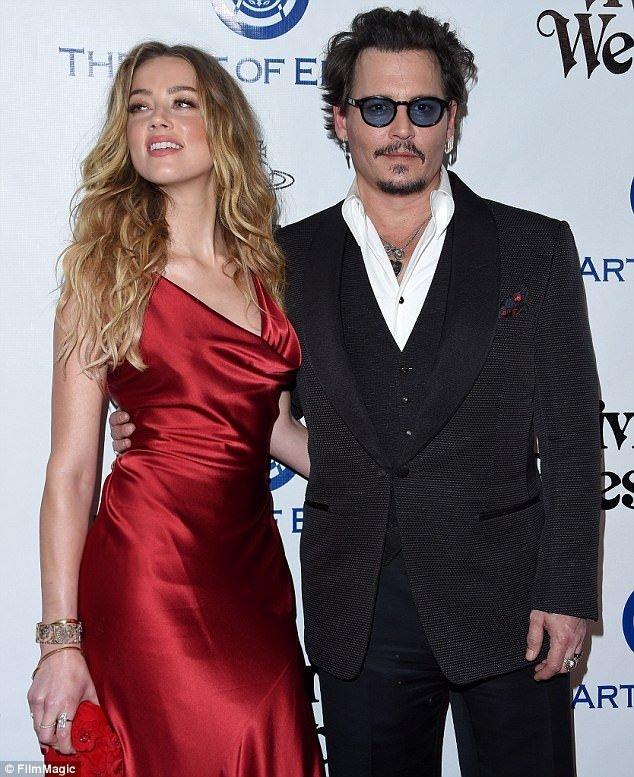 Johnny Depp ve Amber Heard'ın boşanmasında şok gelişme