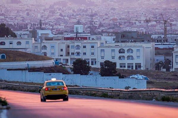 Tunus'ta gün doğumu