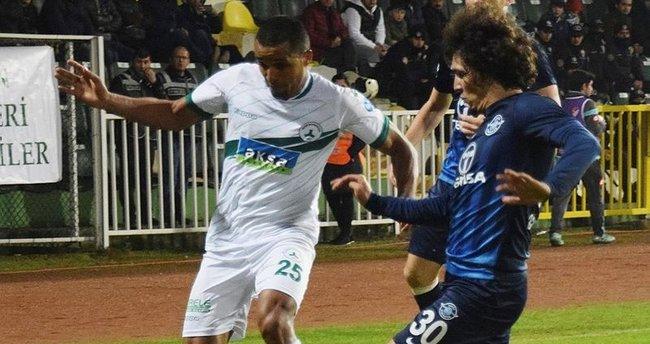 Giresunspor ve Adana Demirspor 1 puana razı oldular