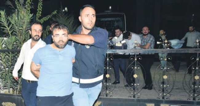 Yastık kavgası firari FETÖ'cüleri yakalattı