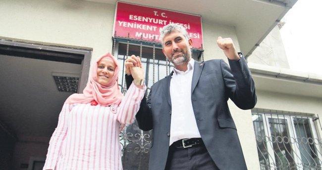 Türkiye'nin ilk karı-koca muhtarları