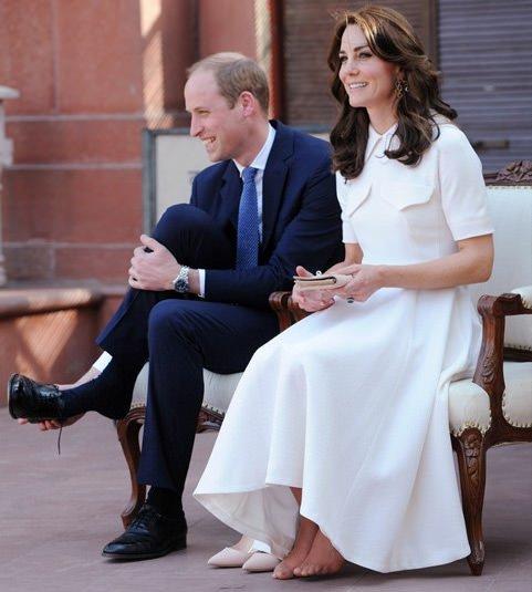 Kate Middleton fena yakalandı