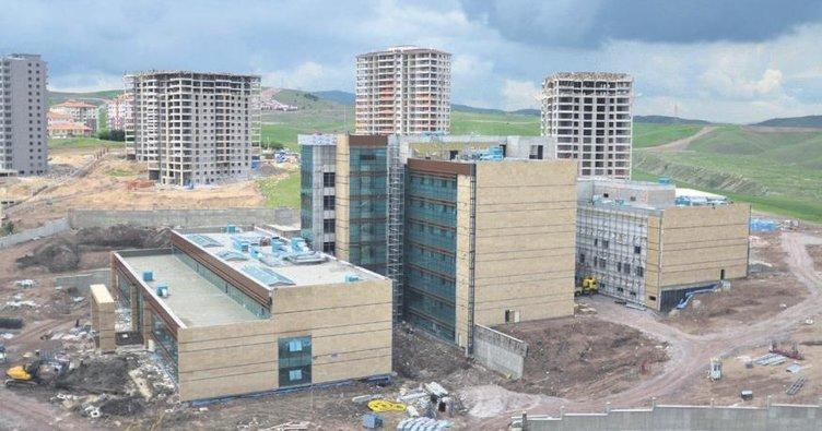 Devlet Hastanesi yıl sonuna tamam