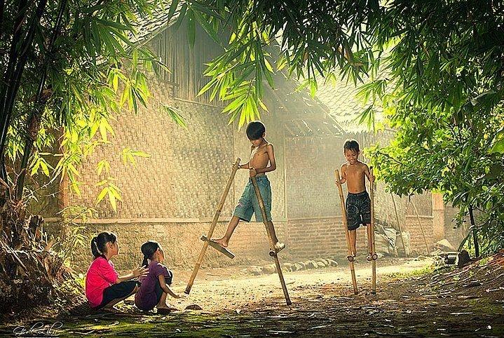 Sokakta Oynayan Çocukların Daha Mutlu Olduğunu Gösteren 30 Harika Fotoğraf