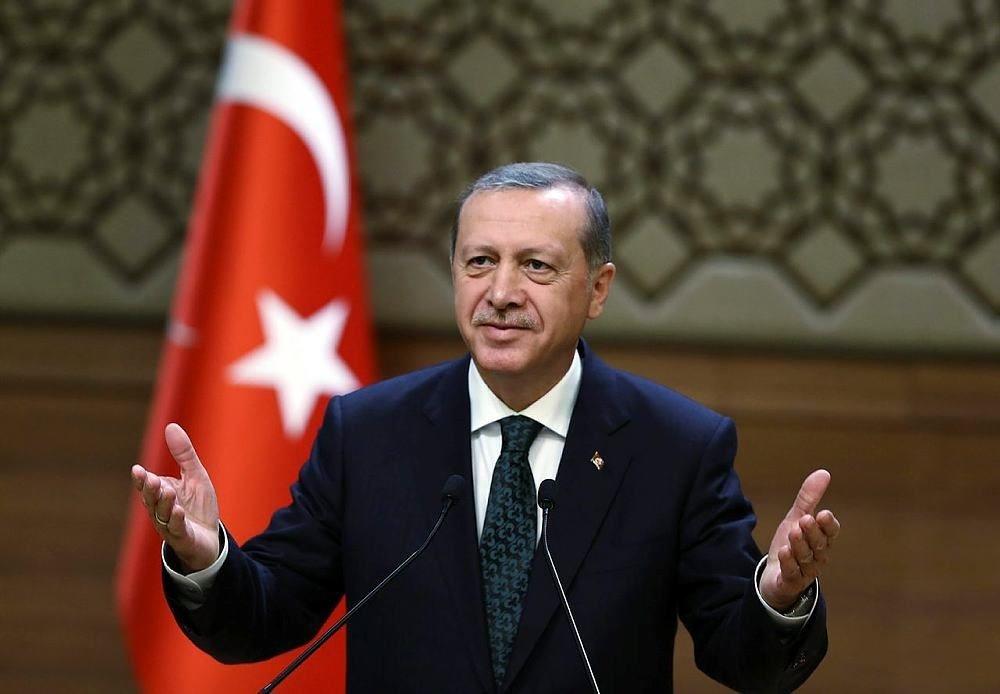 Erdoğan, Irak Türkmen heyetini kabul etti