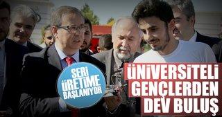 Felçli hastalara Türk gençlerden dev buluş