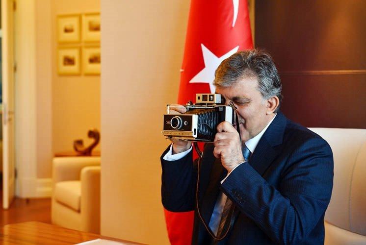Cumhurbaşkanı Gül'ün görülmemiş kareleri!