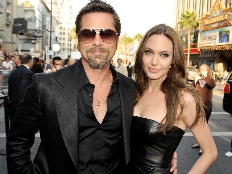 Çaresiz Pitt, Jolie'ye ulaşmaya çalışıyor