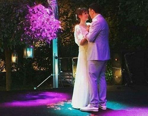 Sinem Öztürk'ün düğününden kareler!