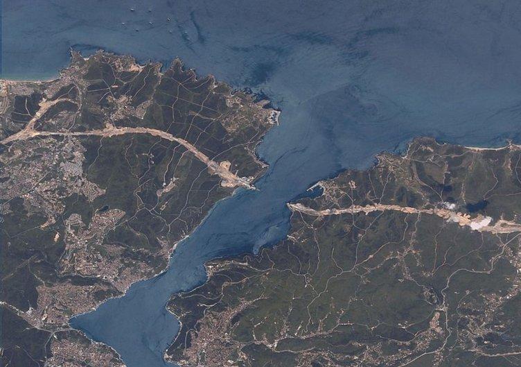 3.Köprü uzaydan görüntülendi