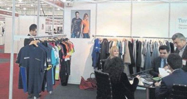 Egeli tekstilciler ürünlerini tanıttı