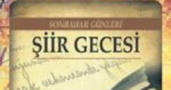 Antalya'da şiir rüzgarı esecek