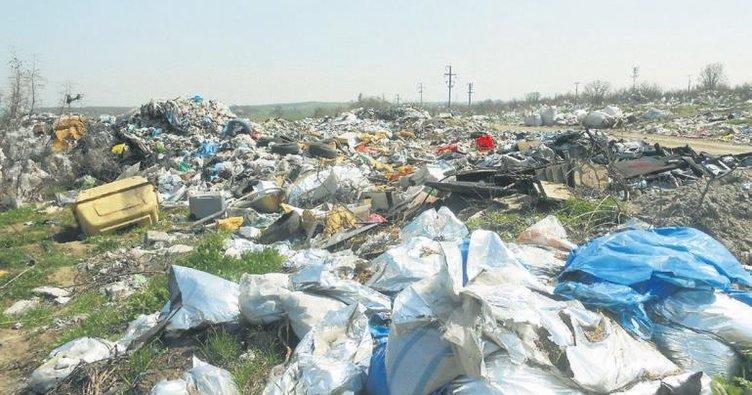 Bursa'nın çöplükleri yeşil alana dönüşüyor