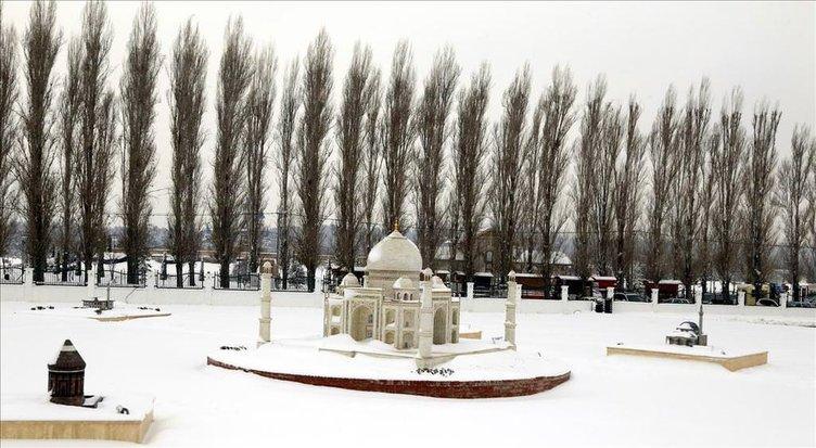 EsminyaTürkte kar manzaraları