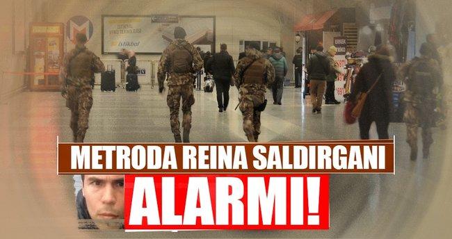 Reina saldırganı görüldü ihbarı üzerine metroda alarm verildi!