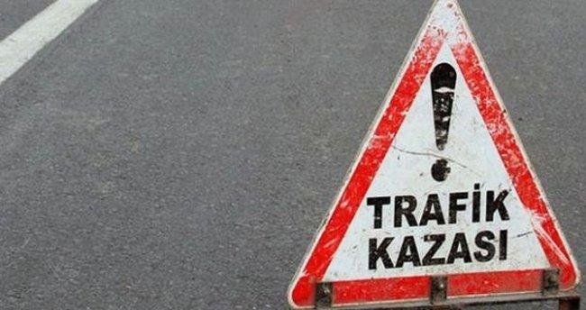 Burdur'da trafik kazası: 2 ölü