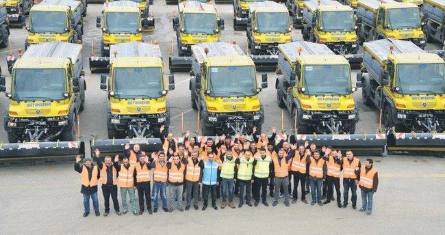 832 araç ve 3 bin kişi kar mücadelesi için hazır