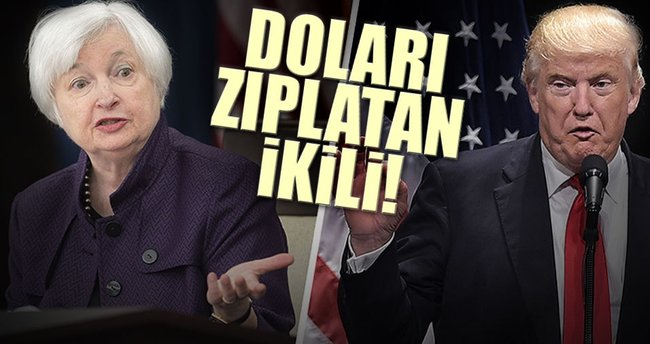 Doları zıplatan ikili