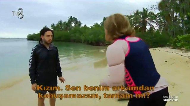 Survivor 3 Adam Skeçleri - Nagihan, Eda'nın üzerine yürüdü!