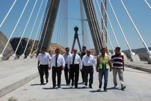 En uzun 3. köprüde sona gelindi