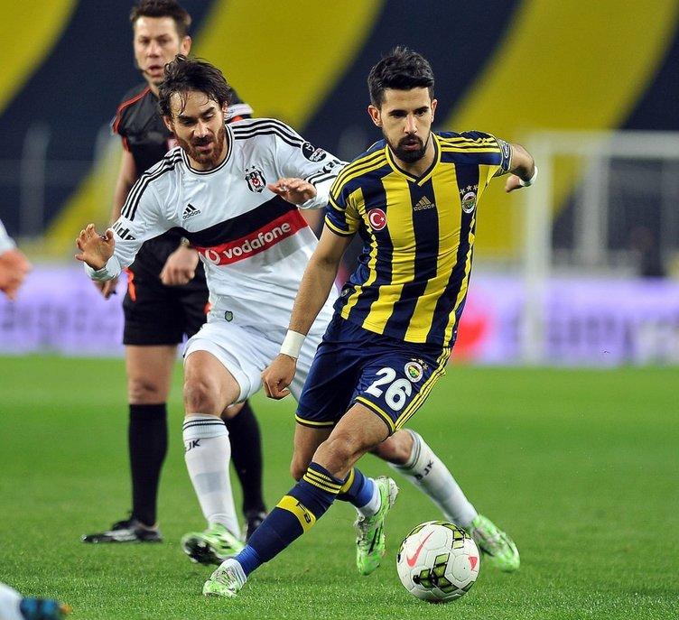 Fenerbahçe - Beşiktaş karşılaşmasından fotoğraflar