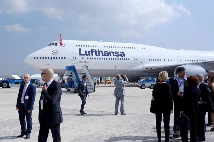 Dev uçaklar İstanbul'da